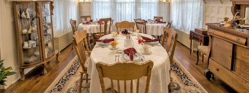 Grey Swan Inn Dining Room