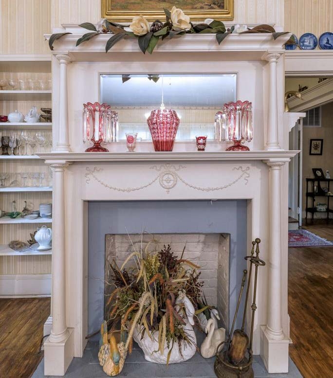 Grey Swan Inn Fireplace