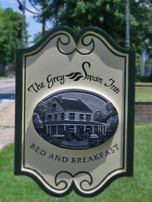 Grey Swan Inn Sign