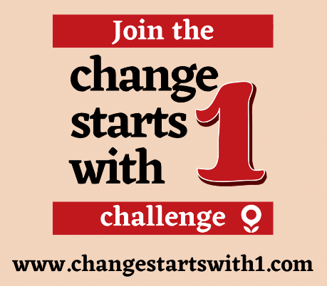 Image of Change starts with One challenge